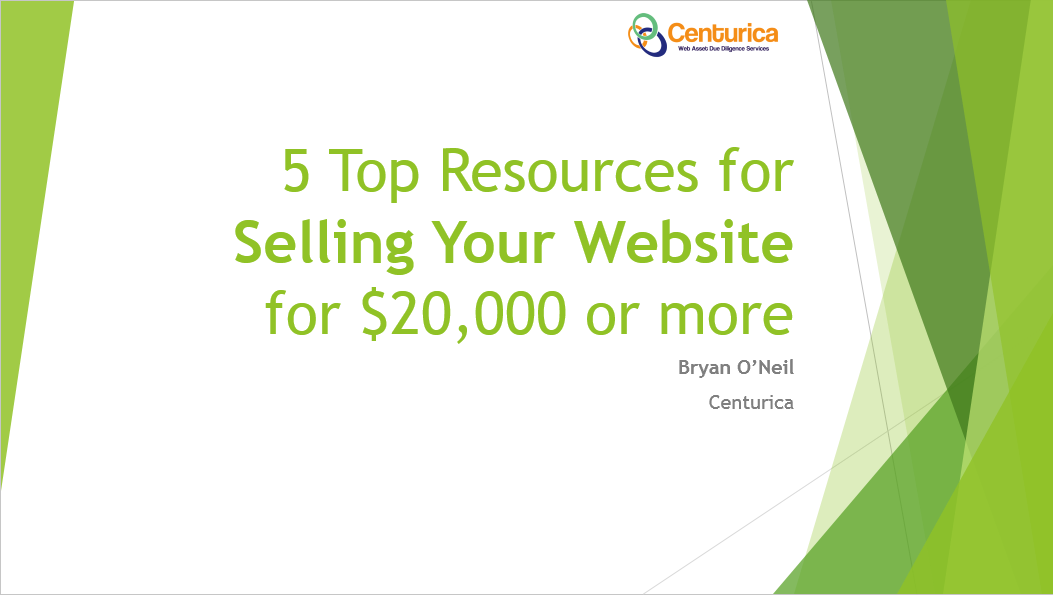 5 Top Resources for Selling Your Website