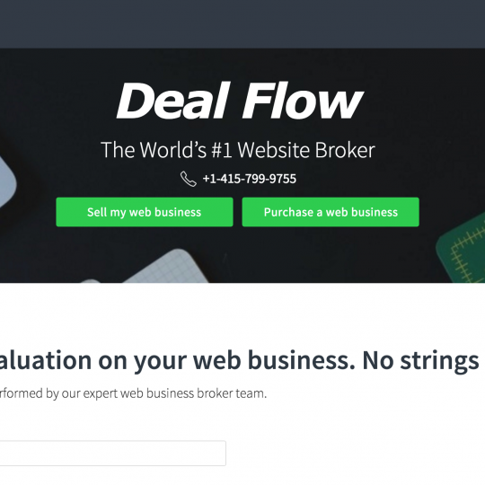 Deal Flow Broker Review
