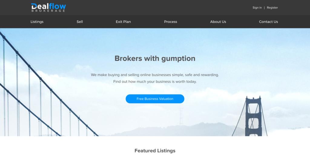 Flippa Dealflow Brokerage Review