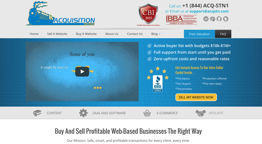 Acquisition Station Review
